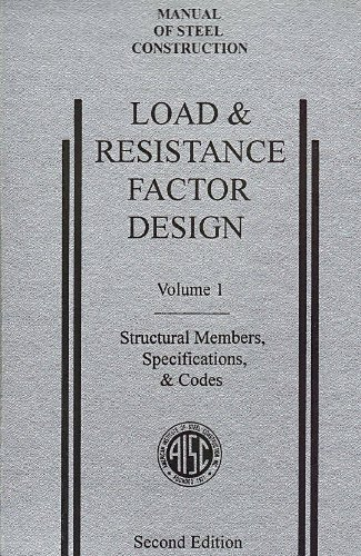9781564240460: AISC Manual of Steel Construction: Load and Resistance Factor Design, Second Edition, LRFD, 2nd Edition, (Volume 1: Structural Members, Specifications, & Codes), (1994)