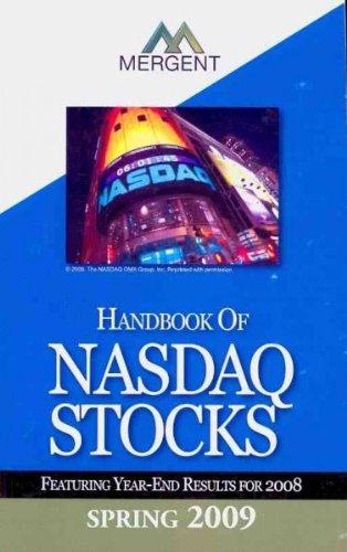 9781564290564: Mergent's Handbook of NASDAQ Stocks 2010: Summer