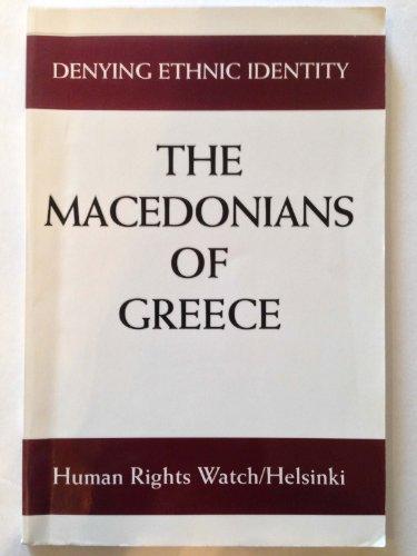 9781564321329: Denying Ethnic Identity: Macedonians