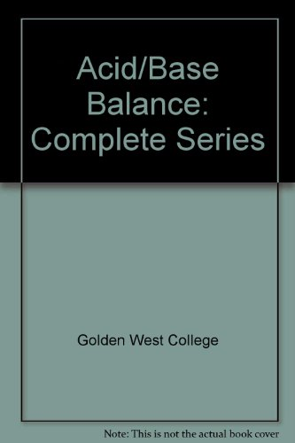 Acid/Base Balance: Complete Series (CD) (Concept Media: Educational Videos): Golden West College