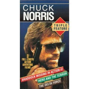 9781564427694: Chuck Norris Triple Feature [VHS]