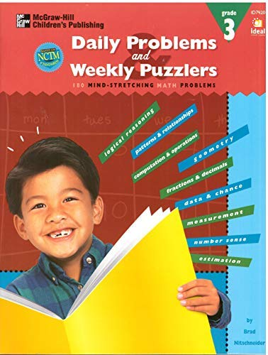 9781564511959: Daily problems and weekly puzzlers grade 3