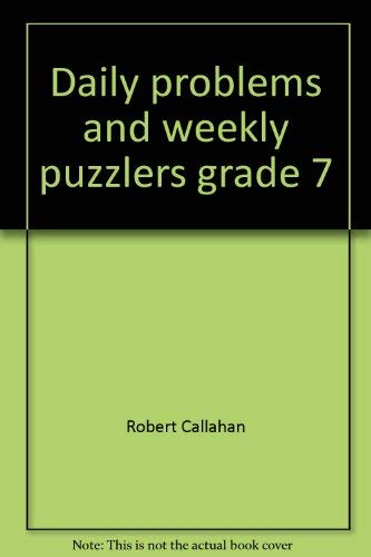 9781564511997: Daily problems and weekly puzzlers grade 7