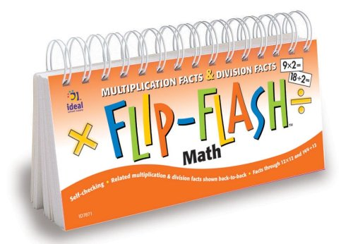 9781564512963: Flip-Flash(tm) Math, Multiplication and Division Facts Horizontal