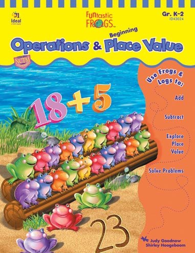 9781564513656: Funtastic Frogs(tm) Operations and Beginning Place Value