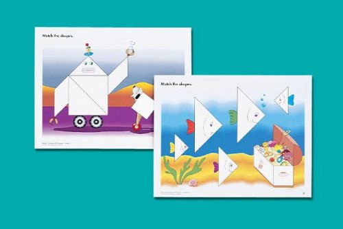 9781564514080: Matching Activities with Tangrams