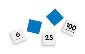 9781564517654: Hundred Number Tiles 0-100: Math: Grades K and Up