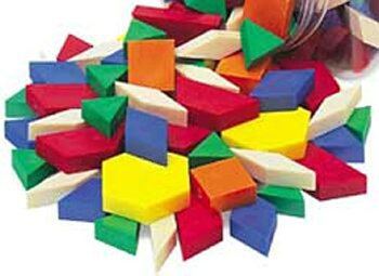 9781564518224: Standard Plastic Pattern Blocks