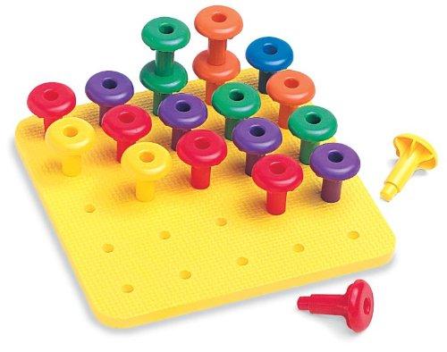 9781564518538: Jumbo Easy Grip Pegs & Playpad: Grades Prek and Up
