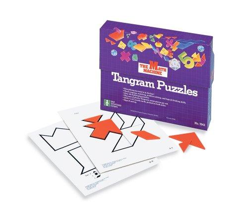 Math Machine: Tangram Puzzles: School Specialty Publishing