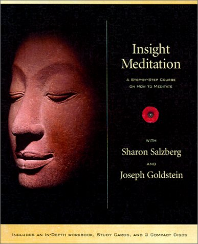 Insight Meditation Kit: A Step-by-step Course on How to Meditate: Goldstein, Joseph; Salzberg, ...