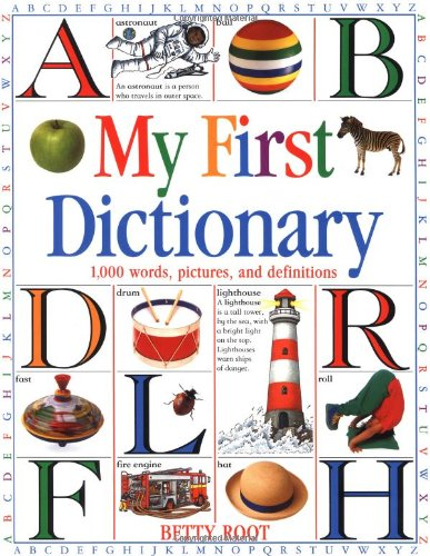 9781564582775: My First Dictionary: 1,000 words, pictures, and def (DK Games)