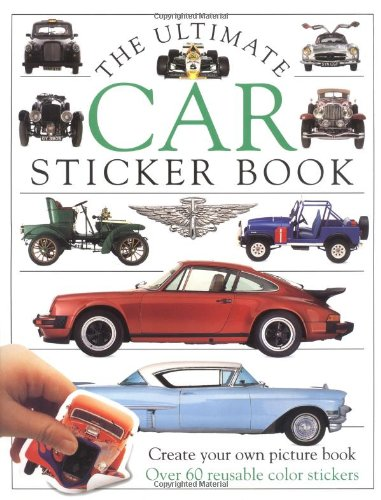 9781564583994: Ultimate Sticker Book: Car (Ultimate Sticker Books)