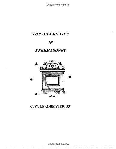 9781564590268: Hidden Life in Freemasonry