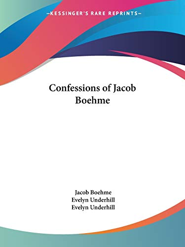 9781564592149: Confessions of Jacob Boehme