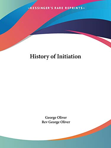 9781564593016: History of Initiation