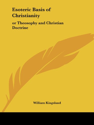 9781564593580: Esoteric Basis of Christianity: or Theosophy and Christian Doctrine