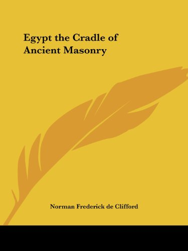 9781564595249: Egypt the Cradle of Ancient Masonry