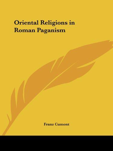9781564595379: Oriental Religions in Roman Paganism