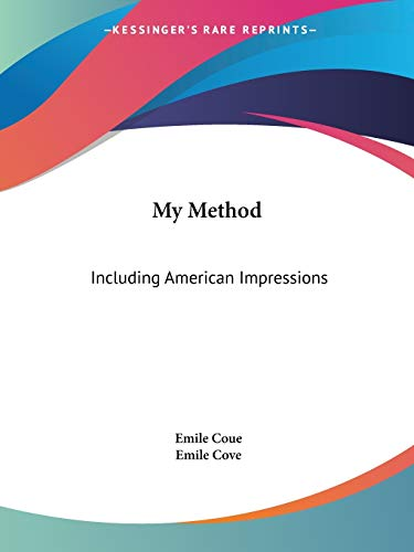 9781564596222: My Method: Including American Impressions