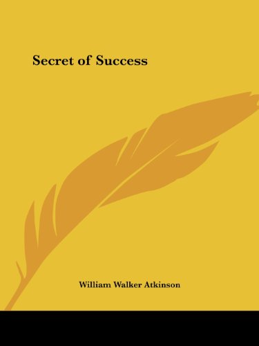 9781564596475: Secret of Success