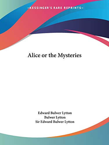 9781564596918: Alice or the Mysteries