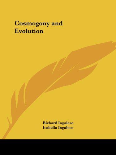 9781564597526: Cosmogony and Evolution