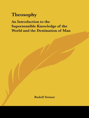 9781564598066: Theosophy: An Introduction to the Supersensible Knowledge of the World and the Destination of Man (1910)