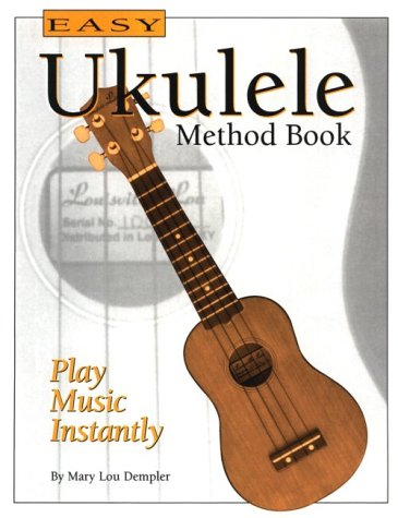 9781564690722: Easy Ukulele Method Book