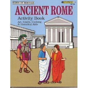 9781564720320: Ancient Rome Activity Book