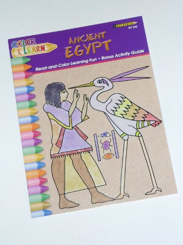 9781564722003: Ancient Egypt (Color and Learn)
