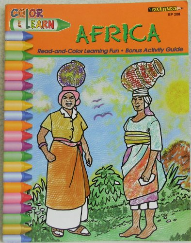 Color & Learn: Africa: Edupress