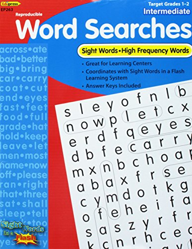 9781564722638: Reproducible Word Searches (Sight Words in a Flash, intermediate)