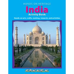 9781564723505: India Activity Book (Hands On Heritage)