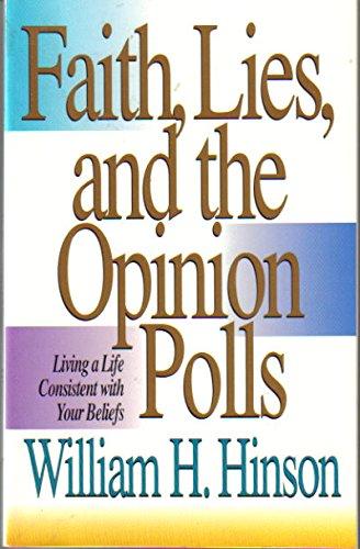 9781564761231: Faith, Lies, and the Opinion Polls