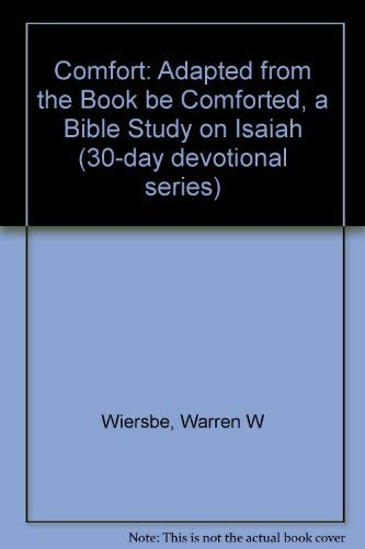 9781564764027: Comfort: A 30-Day Devotional (Isaiah)