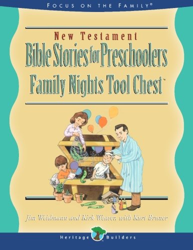 9781564767769: New Testament Stories for Preschoolers: Family Nights Tool Chest (Heritage Builders)