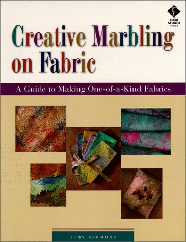 Creative Marbling on Fabric: A Guide to Making One-Of-A-Kind Fabrics