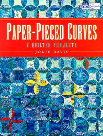 9781564773029: Paper-Pieced Curves: 8 Quilted Projects