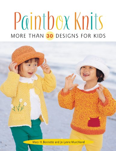 Paintbox Knits: More Than 30 Designs for Kids (Paperback)