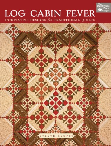 9781564774118: Log Cabin Fever: Innovative Designs for Traditional Quilts