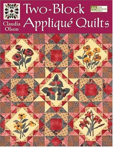 9781564775740: Two-Block Applique Quilts