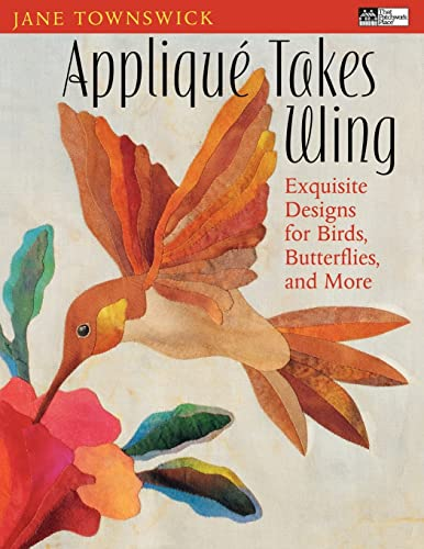 Applique Takes Wings