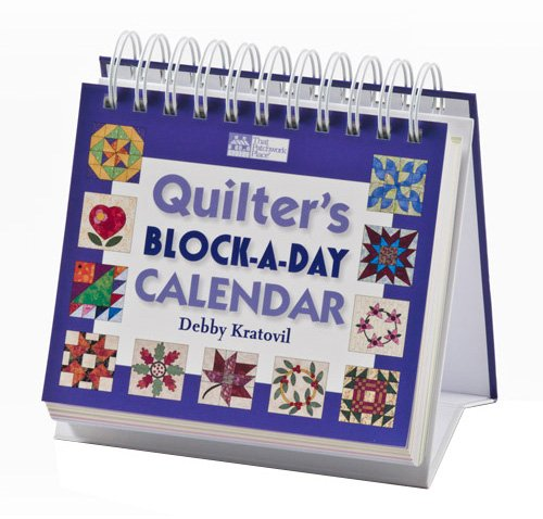 Quilter's Block-a-day Perpetual Calendar: Debby Kratovil