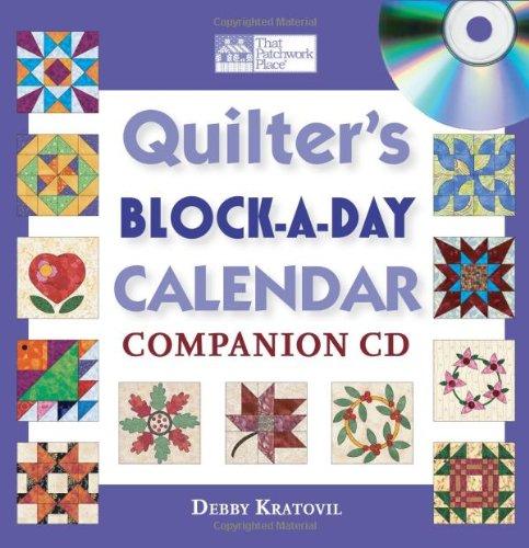 9781564777607: Quilter's Block-a-Day Calendar Companion CD