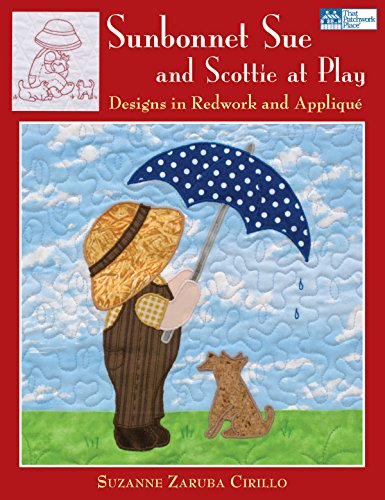 9781564778833: Sunbonnet Sue and Scottie at Play: Designs in Redwork and Applique