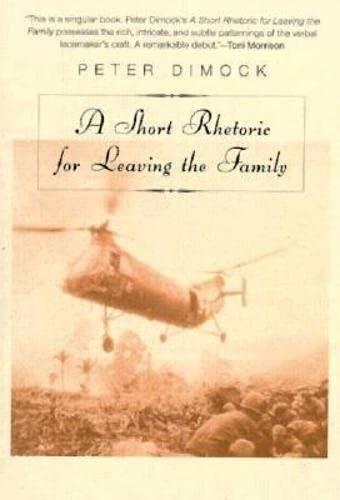 9781564782106: Short Rhetoric for Leaving the Family (American Literature (Dalkey Archive))