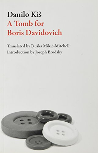 9781564782731: A Tomb for Boris Davidovich (Eastern European Literature Series)