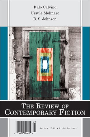 9781564782755: Review of Contemporary Fiction: Vol XX11, No 1 - Spring 2002