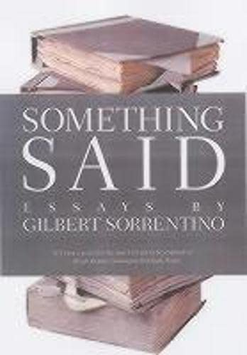 9781564783103: Something Said (American Literature (Dalkey Archive))